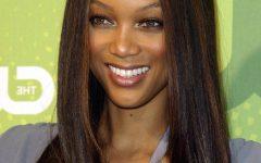 Tyra Banks Medium Hairstyles