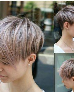 Undercut Pixie Hairstyles