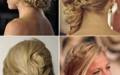 Buns To The Side Wedding Hairstyles