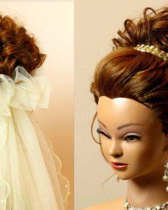 Wedding Updos for Medium Hair