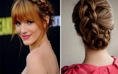 Updo Hairstyles with Fringe Bangs