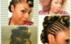 Kanekalon Hair Updo Hairstyles