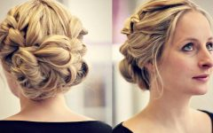 Short Wedding Updo Hairstyles
