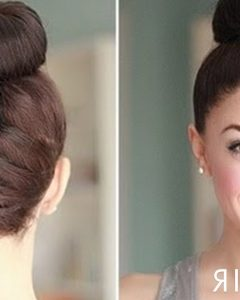 Reverse Braid and Side Ponytail Hairstyles