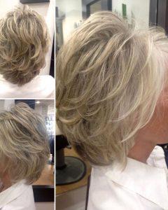 Short Voluminous Feathered Hairstyles