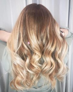Warm Blonde Curls Blonde Hairstyles