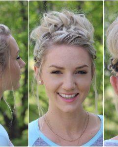Cute Girls Updo Hairstyles