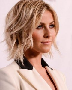 Shaggy Bob Hairstyles For Round Faces