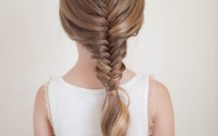 Over-the-shoulder Mermaid Braid Hairstyles