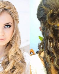 Wedding Guest Hairstyles For Long Hair Down