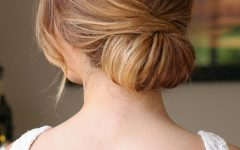 Volumized Low Chignon Prom Hairstyles