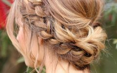 Wedding Hairstyles with Braids for Bridesmaids