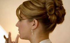 Updo Hairstyles for Mother of the Bride Medium Length Hair