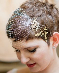 Wedding Hairstyles For Short Brown Hair