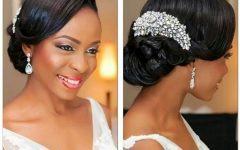 Bridesmaid Hairstyles for Short Black Hair