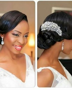 Bridesmaid Hairstyles For Short Black Hair