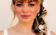 Wedding Hairstyles For Shoulder Length Hair With Fringe