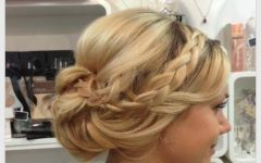 Teased Wedding Hairstyles with Embellishment