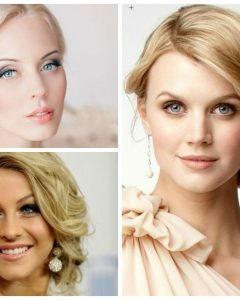 Wedding Hairstyles For Round Shaped Faces