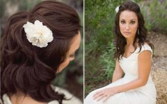 Bridal Hairstyles For Medium Length Hair With Veil