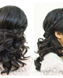 Wedding Hairstyles For Medium Length With Black Hair