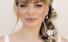 Wedding Hairstyles for Medium Length Hair with Bangs