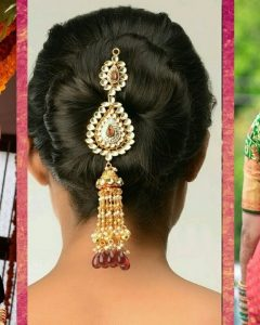 Wedding Hairstyles For Indian Bridal