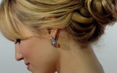 Short and Flat Updo Hairstyles for Wedding