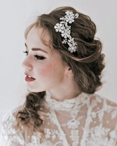 Wedding Hairstyles for Medium Length Hair with Tiara