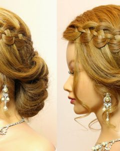 Related About Wedding Prom Hairstyle For Long Hair Updo Tutorial