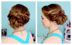Easy Hair Updo Hairstyles for Wedding