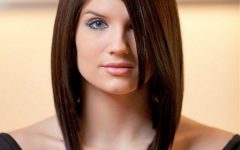 Asymmetrical Medium Haircuts for Women
