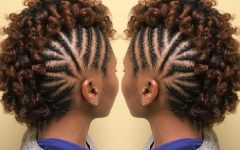 Braided Frohawk Hairstyles