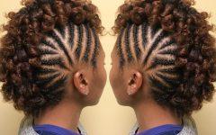 Braided Frohawk Hairstyles