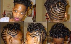 Braided Natural Hairstyles for Short Hair