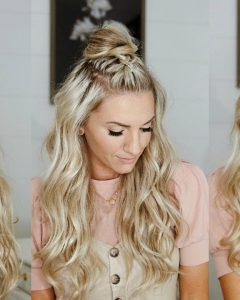 Braided Topknot Hairstyles