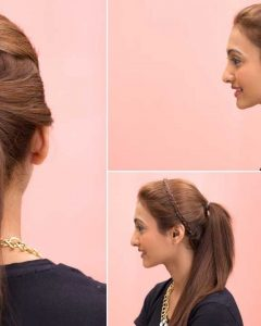 Chic Ponytail Hairstyles With Added Volume