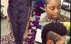 Crochet Mohawk Twists Micro Braid Hairstyles