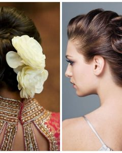 Indian Wedding Hairstyles For Shoulder Length Hair