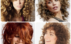 Medium Shaggy Curly Hairstyles