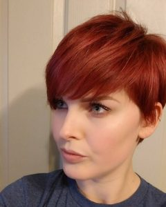 Ravishing Red Pixie Hairstyles