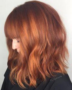 Red Hair Medium Haircuts