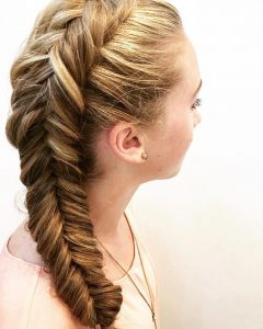Rope and Fishtail Braid Hairstyles