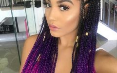 Royal Braided Hairstyles with Highlights