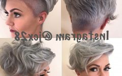 Sassy Silver Pixie Blonde Hairstyles