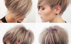 Short Asymmetrical Pixie Haircuts
