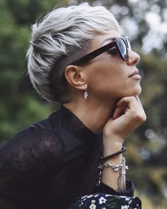 Smooth Shave Pixie Haircuts