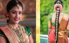 South Indian Tamil Bridal Wedding Hairstyles