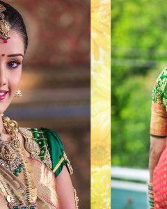 South Indian Tamil Bridal Wedding Hairstyles