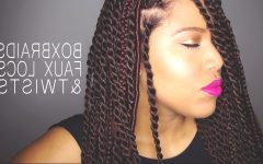 Twist from Box Braids Hairstyles
